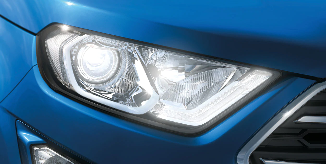 <strong>LED Daytime Running Lamps</strong><br /><span>Helps ensure your EcoSport Titanium is more visible to other drivers, cyclists and pedestrians.</span>