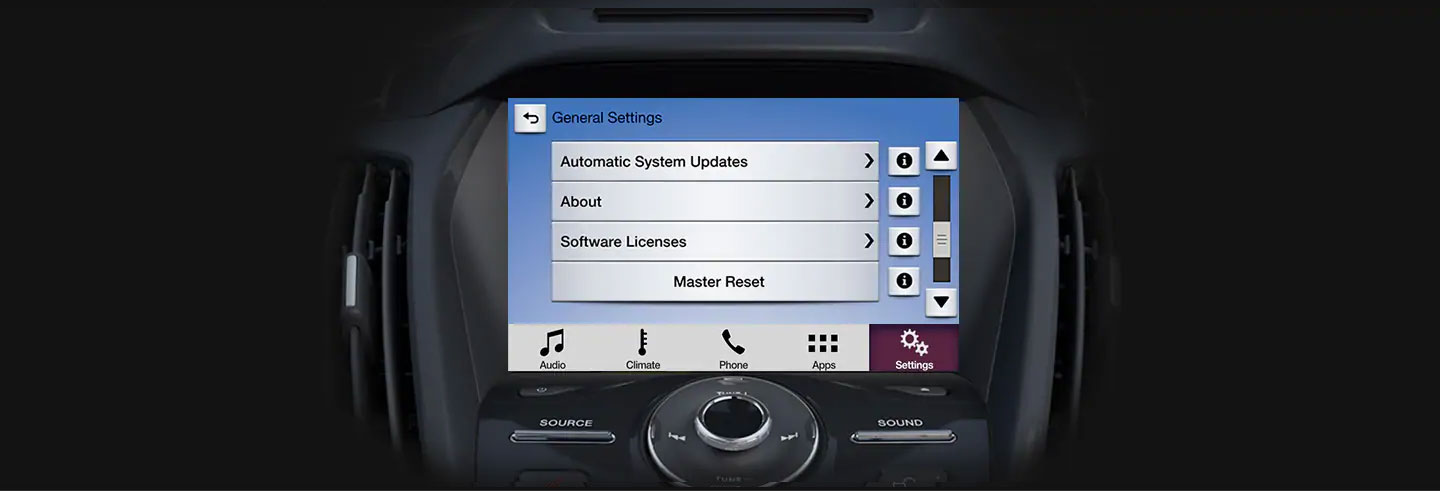 Ford Sync Reset >> How To Perform A Master Reset For Sync 3 Ford Myanmar