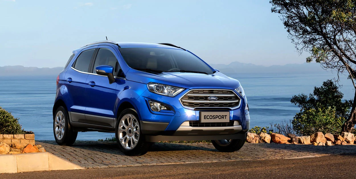<strong>Bold New Exterior Design</strong><br /><span>EcoSport always looks like it's ready for action. That's because it is.</span>