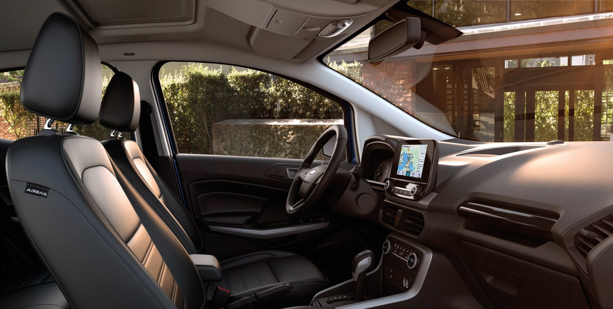 <strong>Elevated Right Height </strong><br>New EcoSport lets you see more of what's going on around you. And it's never been easier to get in and out thanks to the perfectly positioned seats.
