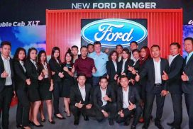 New Ford Ranger Makes Grand Debut in Myanmar