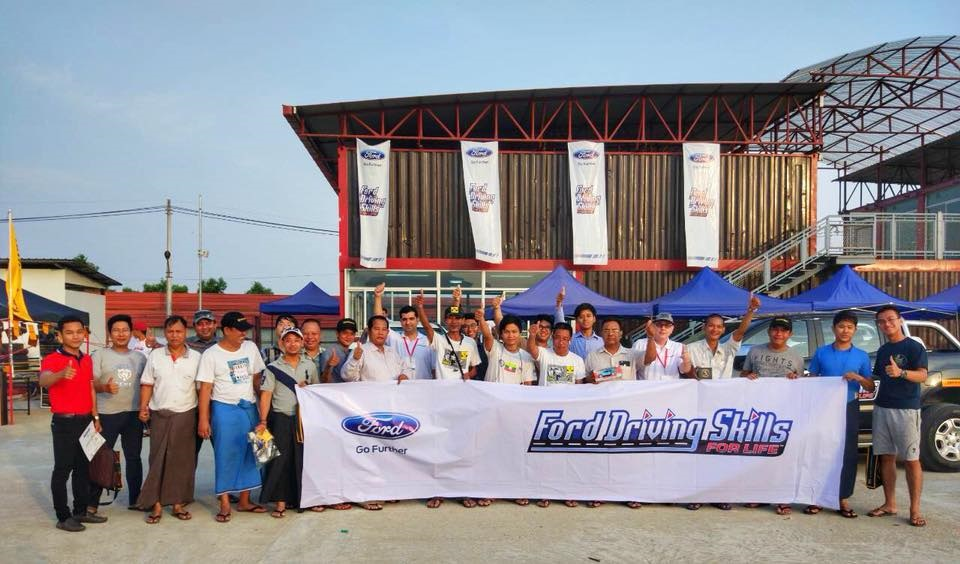 Ford Continues Driving Skills for Life Programme in Myanmar, Provides Education on Safe Driving