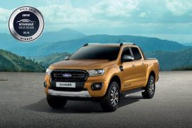 Yangon Assembled Ford New Ranger Wins Best Pick-up Truck at Inaugural Myanmar Car of the Year 2018 Awards