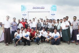 Capital Automotive Ford Myanmar Held Driving Skills for Life Program